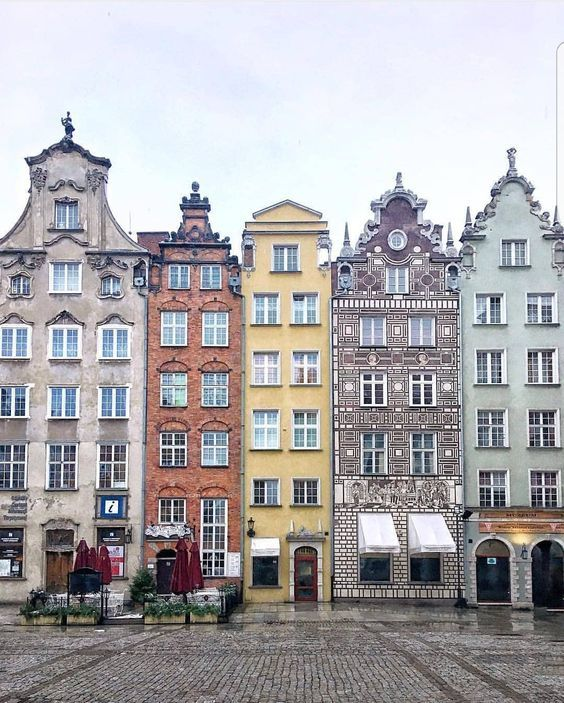 Hanging out in Gdansk, Poland.