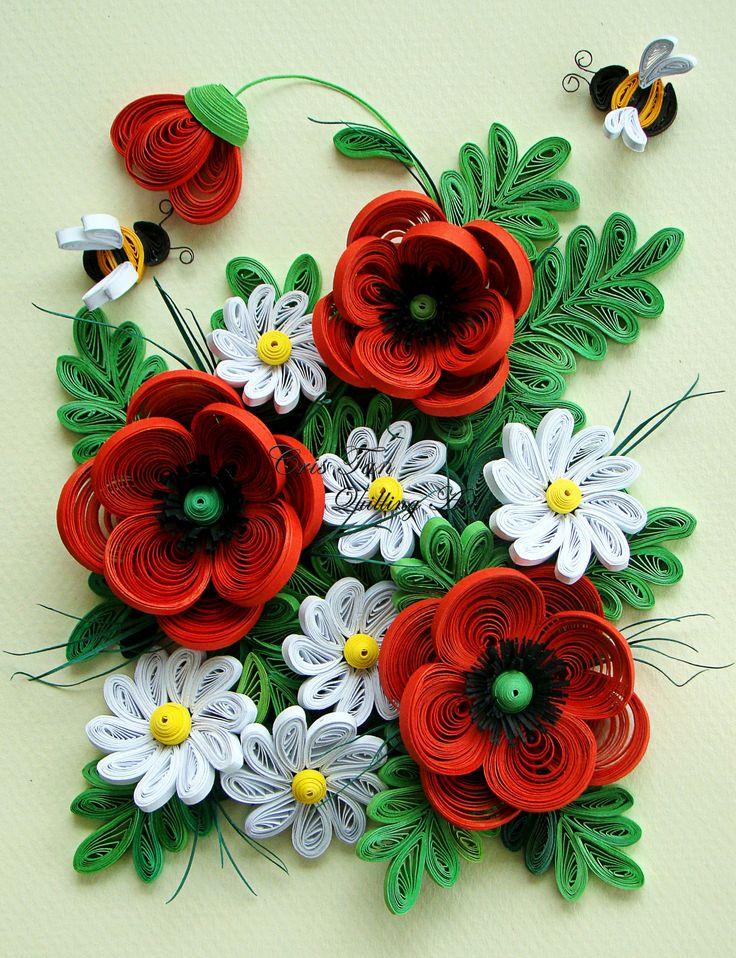 преисполненные множеством цветы из квиллинга картинки для начинающих бодрящий кофе