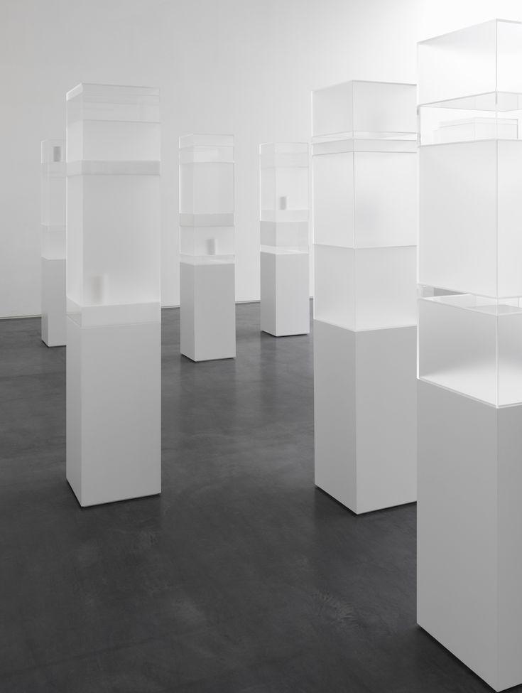 Edmund de Waal | Another Hour, 2014.  minimal, minimalist, minimalism, art