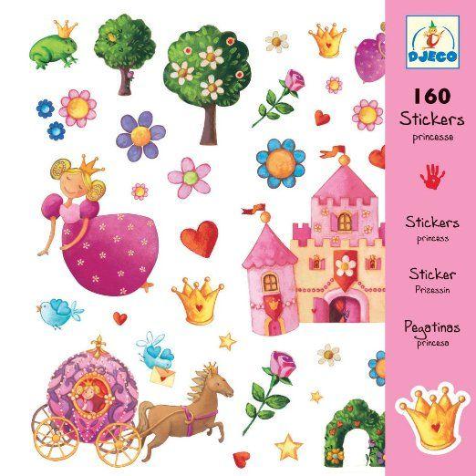 Djeco Stickers: Princess Marguerite