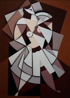 Rafa Chevira: Mujer con abanico