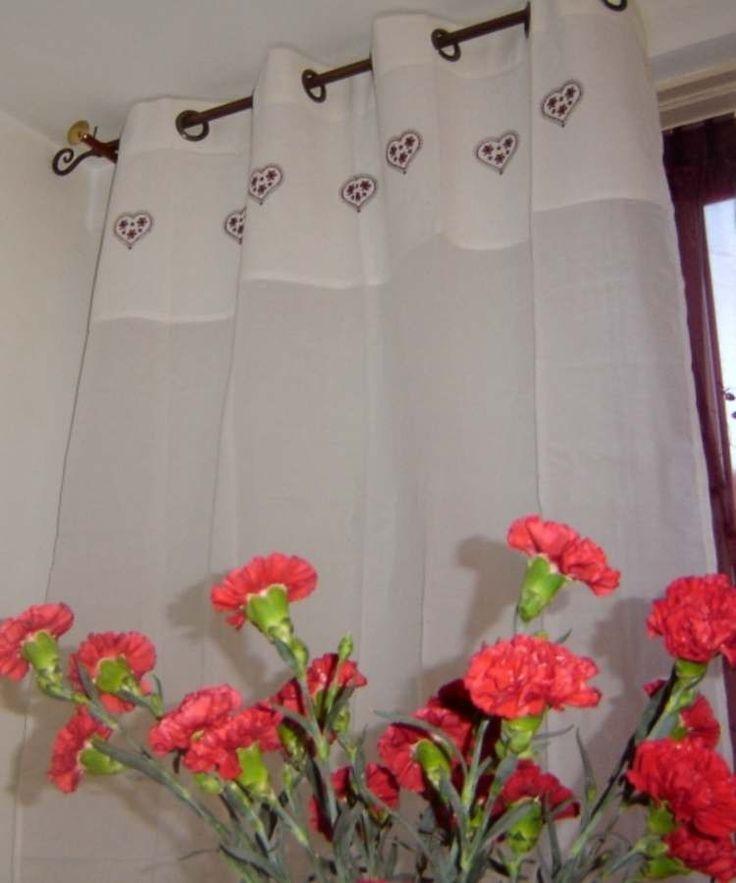 Les 45 meilleures images du tableau rideau en pointe sur pinterest pointes id es rideaux et - Ou trouver des oeillets pour rideaux ...