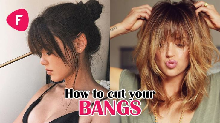 How To Cut Your Own Bangs ✂ Fringe DIY Tutorials Compilation 2017 ✔