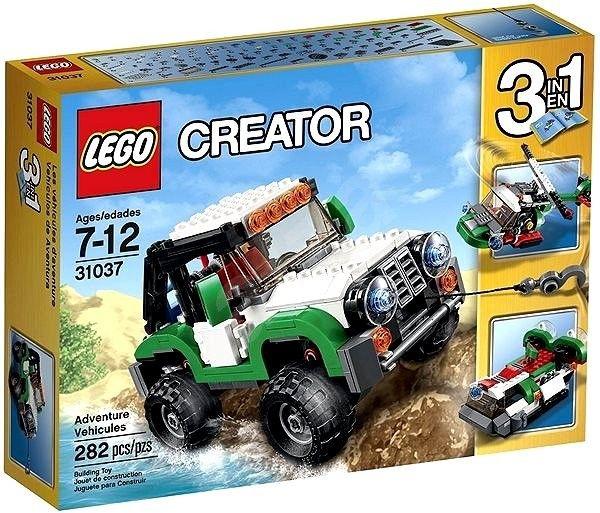 Stavebnice LEGO Creator 31037 Expediční vozidla