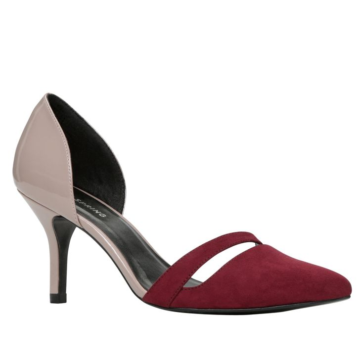 BELAN - CALL IT SPRING - Two-piece pump.  - Pointy toe.  - Straight heel.  - Synthetic lining.  - Heel Height: 3.25 in.