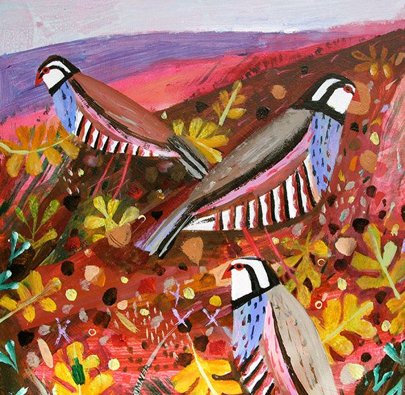 Partridges by Mary Sumner