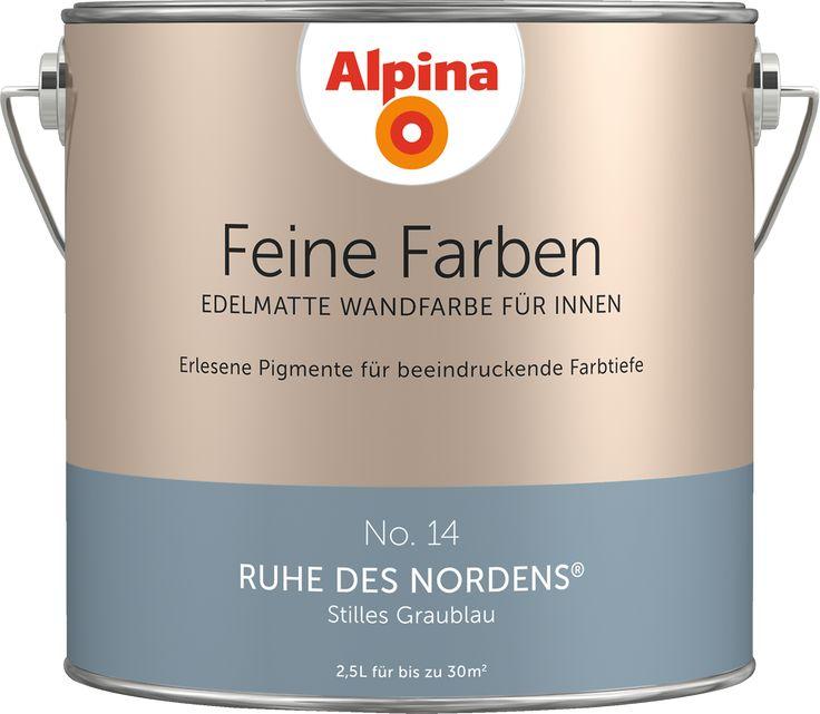 """Alpina Feine Farben No. 14 """"RUHE DES NORDENS"""" - Stilles Graublau"""