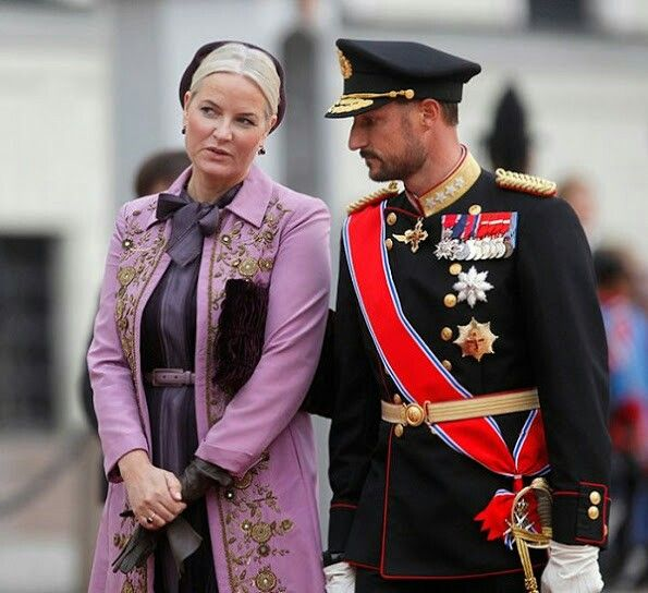 CP Mette-Marit and CP Haakon of Norway. October 11 2016
