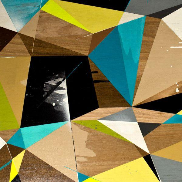 Attractive Graffiti Inspired Coffee Tables By Vans The Omega. Wooden Coffee TablesGeometric  DesignsContemporary FurnitureDiy FurnitureUnique FurnitureGraphic ...