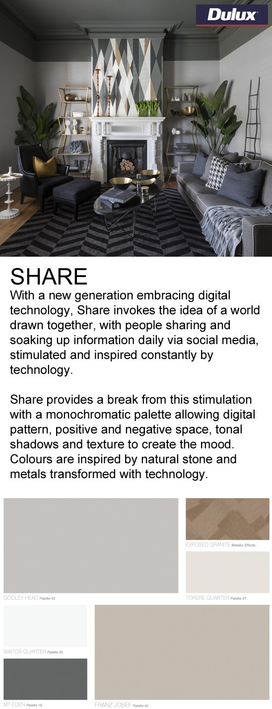 Find SHARE inspired fabrics at Lahood.   www.lahood.co.nz