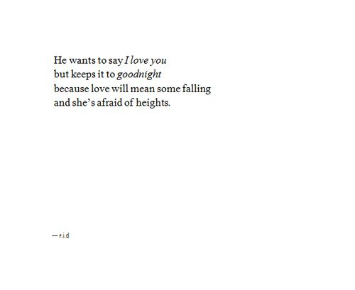 I really love this poem.