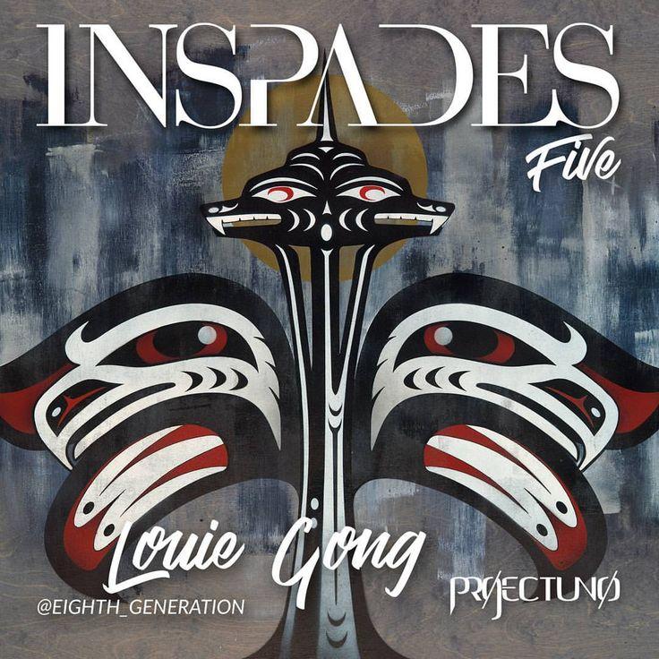 """""""Mi piace"""": 125, commenti: 16 - InSpades (@inspadesmag) su Instagram: """"INSPADES MAGAZINE Five """"Fathering a Movement in Seattle's Native American Art Community"""" Louie…"""""""
