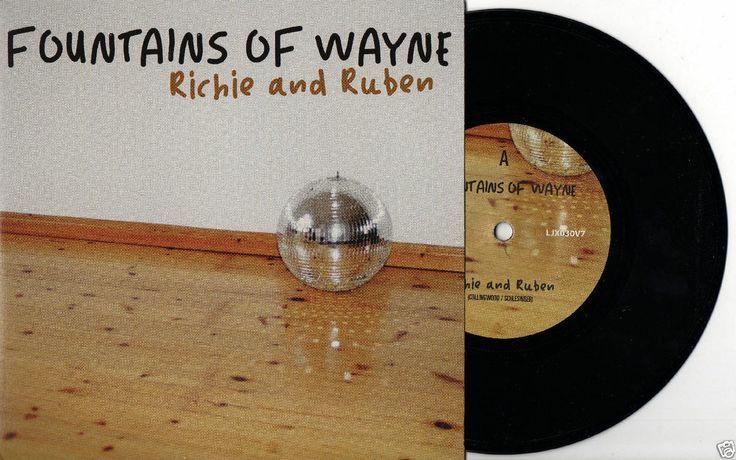 "FOUNTAINS OF WAYNE Richie and Ruben 2011 UK 7"" 45 VINYL SINGLE MINT LJX030V7"