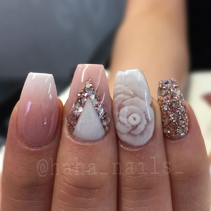 "592 Likes, 14 Comments - Hailey Ann Craner (@haha_nails_) on Instagram: ""My clients keep bringing me nail inspiration from @_stephsnails_  and then asking me to add an…"""