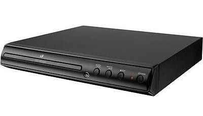 GPX Progressive Scan DVD CD Photo Player with Remote NTSC/PAL Black