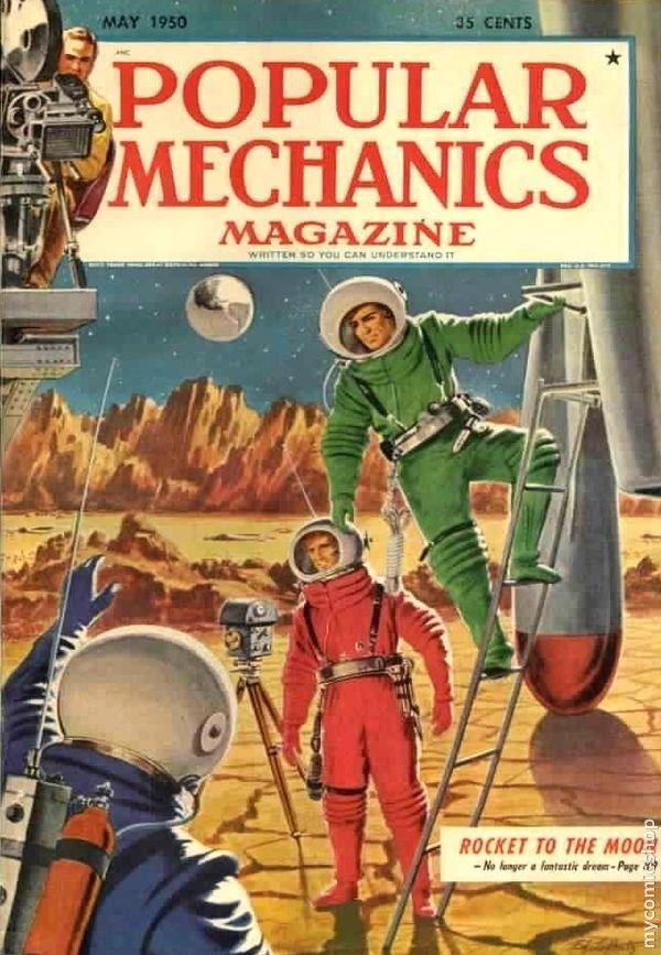 Popular Mechanics Magazine 1950