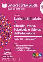 Prezzi e Sconti: #Lezioni simulate di filosofia storia  ad Euro 28.00 in #Scienze umane e sociali pedagogia #Neldiritto editore