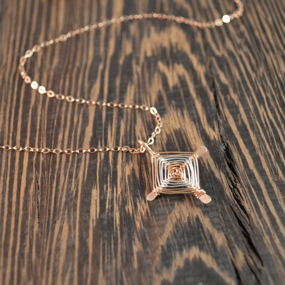 Check out this item in my Etsy shop https://www.etsy.com/listing/269845439/ojo-de-dios-necklace-14k-rose-gold