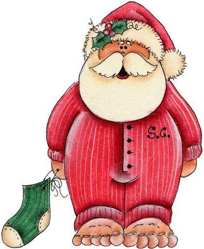 Papai Noel com outras roupas                                                                                                                                                                                 Mais