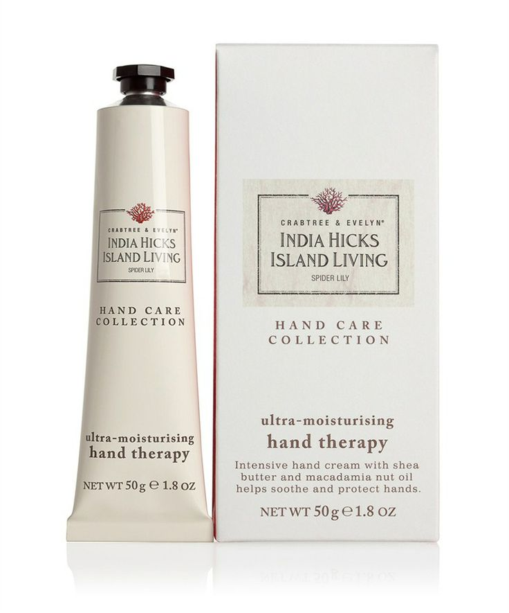 crabtree evelyn india hicks island living spider lily ultra moisturising hand therapy. Black Bedroom Furniture Sets. Home Design Ideas
