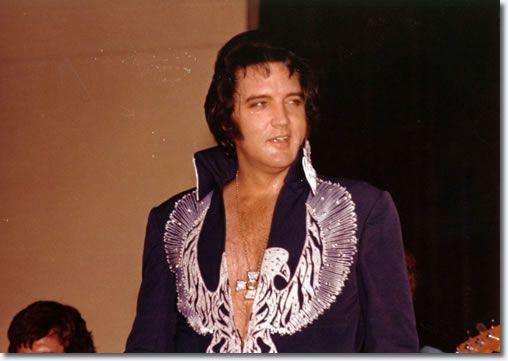 Elvis Presley :Terre Haute, Indiana : July 9, 1975.