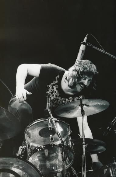 John Bonham . . . That SMILE!                                                                                                                                                                                 More