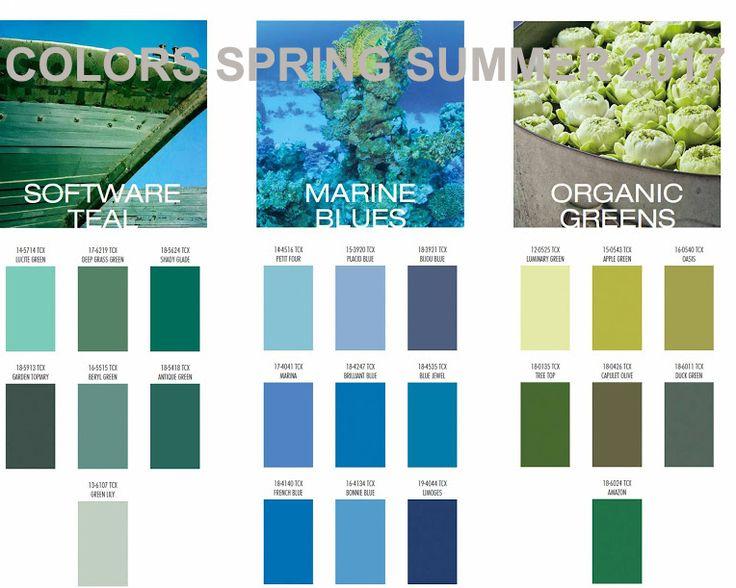 spring summer 2017 color trend --- primavera estate 2017 colori #trend #spring #summer #fashion #moda #fashiontrend #colortrend