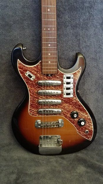 1000 images about teisco on pinterest surf vintage yellow and guitar pickups. Black Bedroom Furniture Sets. Home Design Ideas