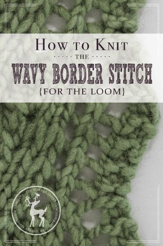 Loom Knitting Stitch Names : 256 best images about Knit All of it. on Pinterest Free pattern, Knit patte...