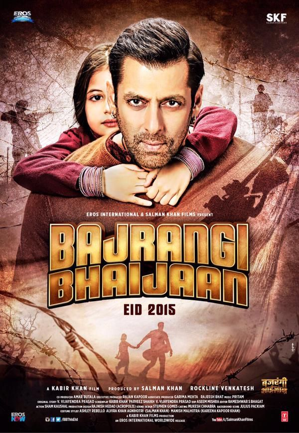 #10 This is one of my utmost favourite Bollywood films! It is called 'Bajrangi Bhaijaan'. It is about a very religious Hindu man who found a lost Muslim Pakistani girl who cannot talk. In the movie the Hindu family wont let the girl stay in their house (religion  purposes)  so the man illegally brings the girl back home. Along the way Pakistan and India are at 'war'. It shows that no matter what religion/ race you are, being a good human is the way to go.