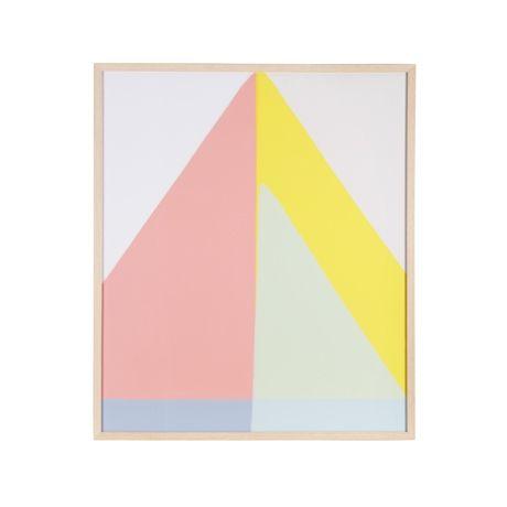 Geo Triangle Print 77x90cm