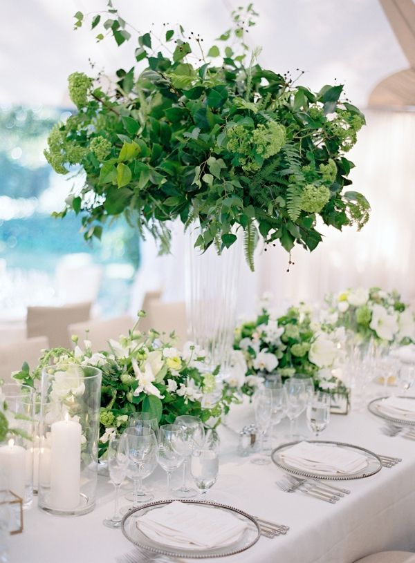Best green images on pinterest centerpieces table