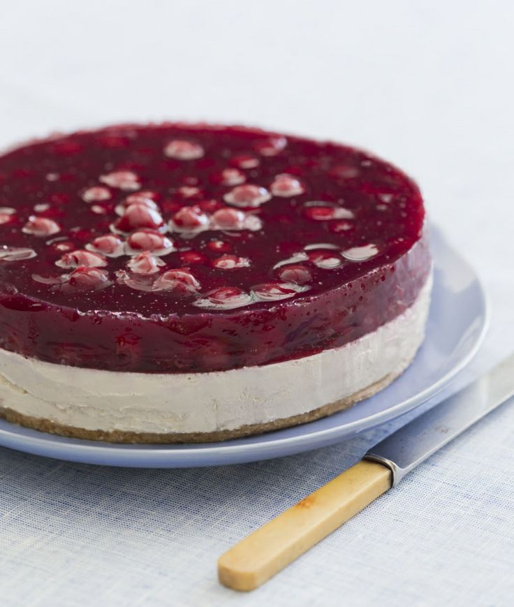 Cherry delight cheesecake