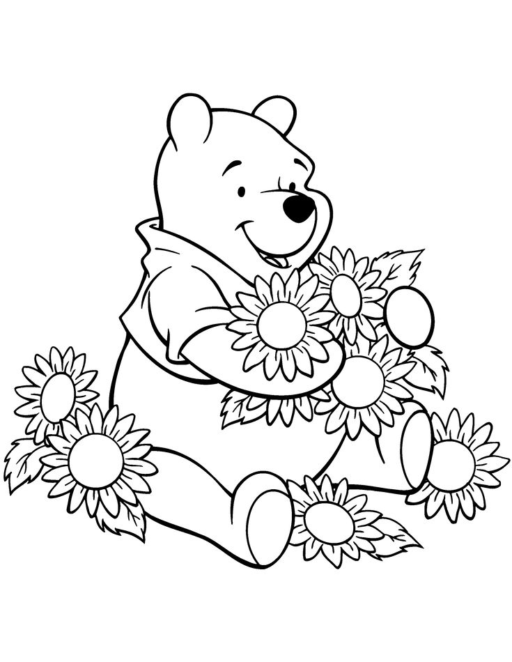 121 Best Disney Coloring Pages Images On Pinterest