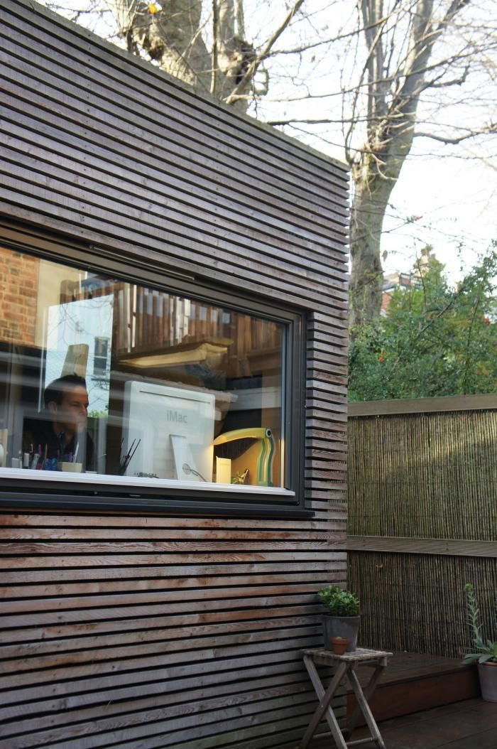 Noma Barr studio - love the lines in the cladding