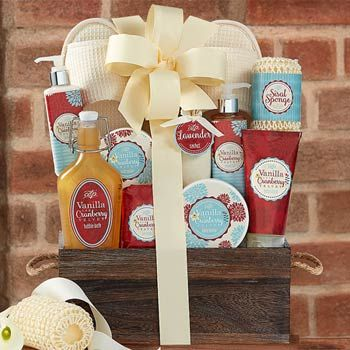 Soothing Spa Retreat Basket.  See more gifts at www.pro-gift-baskets.com!