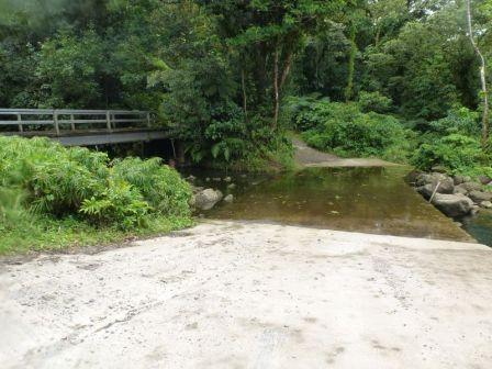 Parking/pont/gué de départ//Les photos : Titou gorge (inférieur)