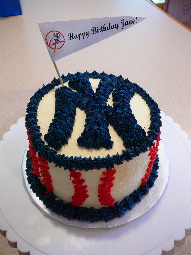 New York Yankees Birthday Cake Images