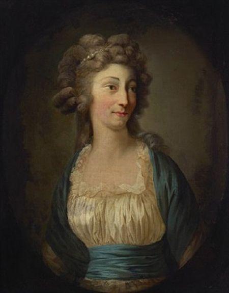 'Portræt af Prinsesse Louise Augusta af Danmark'oil on canvasAnton Graff, 1786.