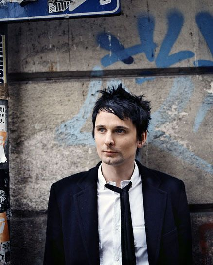 Odd crushes #1: Matt Bellamy - if he's good enough for Kate Hudson, he's more than good enough for me!