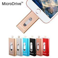 8GB 16GB 32GB 64GB 128GB iOS Flash Drive For iPhone iPad iPod Android Storage Pendrive USB 2.0 Memory Mini USB Flash Drive Disk //Price: $28.90 & FREE Shipping // #hashtag4
