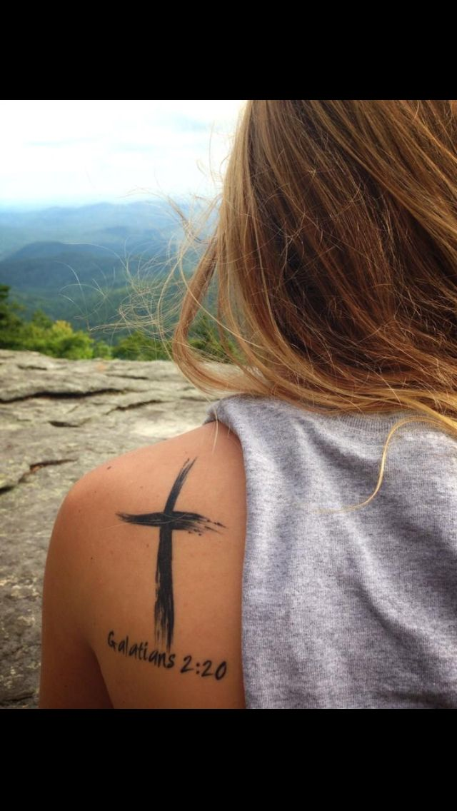 Someone draw that on my arm please! :) {Gal 2:20}