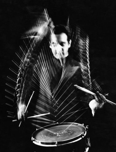 Gjon Mili—Time & Life Pictures/Getty ImagesDrummer Gene Krupa at Gjon Mili's studio, 1941Music, Photos, Black White Photography, Gjon Mili, Mili Studios, Gene Krupa, Life Magazine, 1941, Drummers Gene