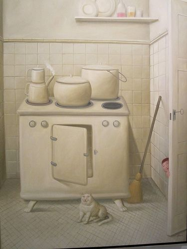 Fernando Botero 'La cocina', (The Kitchen)