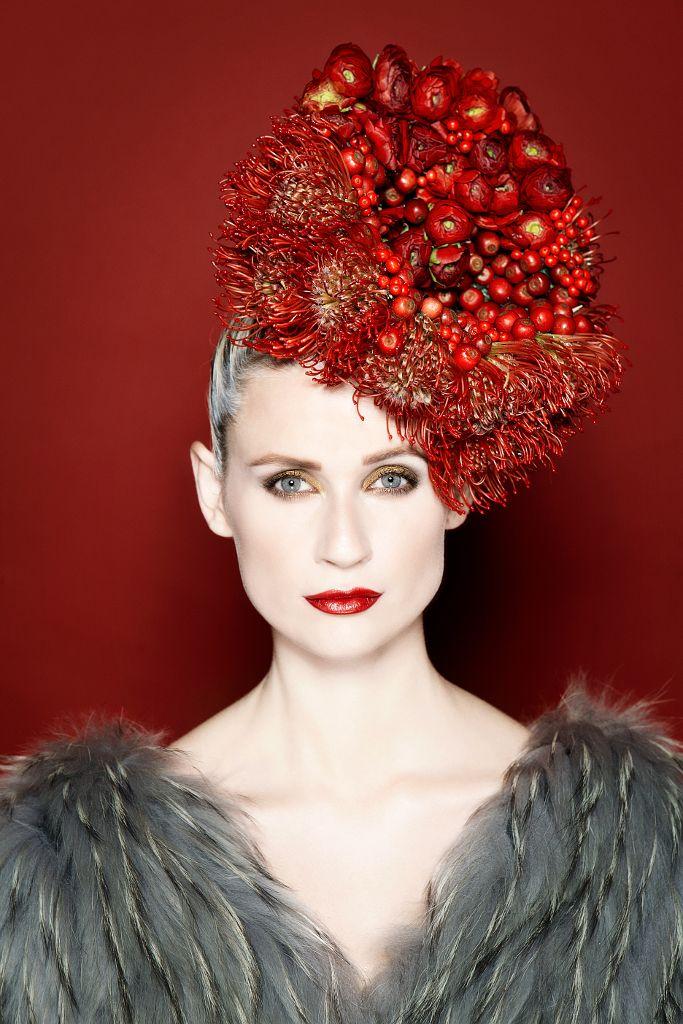 Fusion Flowers — Makeup Artist & Hair Stylist Liv Tverskov Designed by Annette von Einem