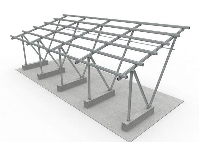 Source Structure Solar Carport on m.alibaba.com