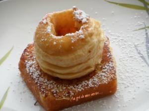 Quatre-quarts façon pain perdu et pomme confite • Hellocoton.fr