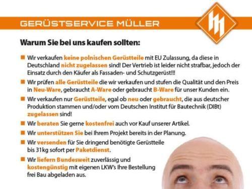 Baugerüst - Gebraucht Gerüst – Komplett Layher Blitz 109 in Frankfurt (Main) - Altstadt   Heimwerken. Heimwerkerbedarf gebraucht kaufen   eBay Kleinanzeigen