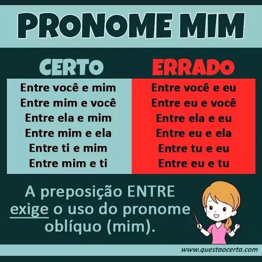 Pronome Mim