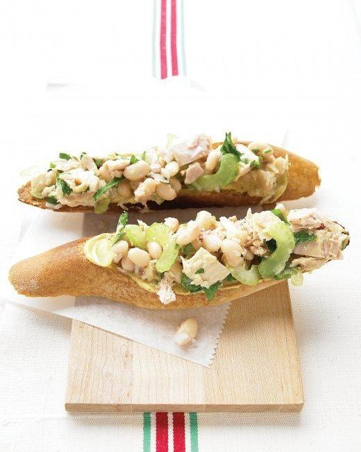 Tuna Salad Bruschetta Recipe